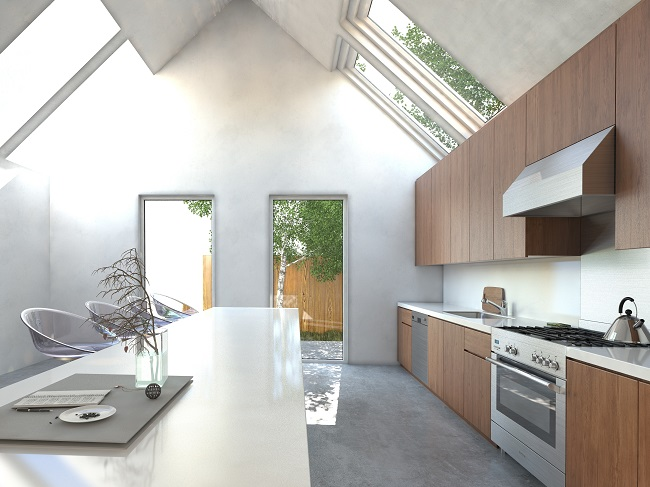 Get New Flooring and a Skylight in Your Kitchen Remodel